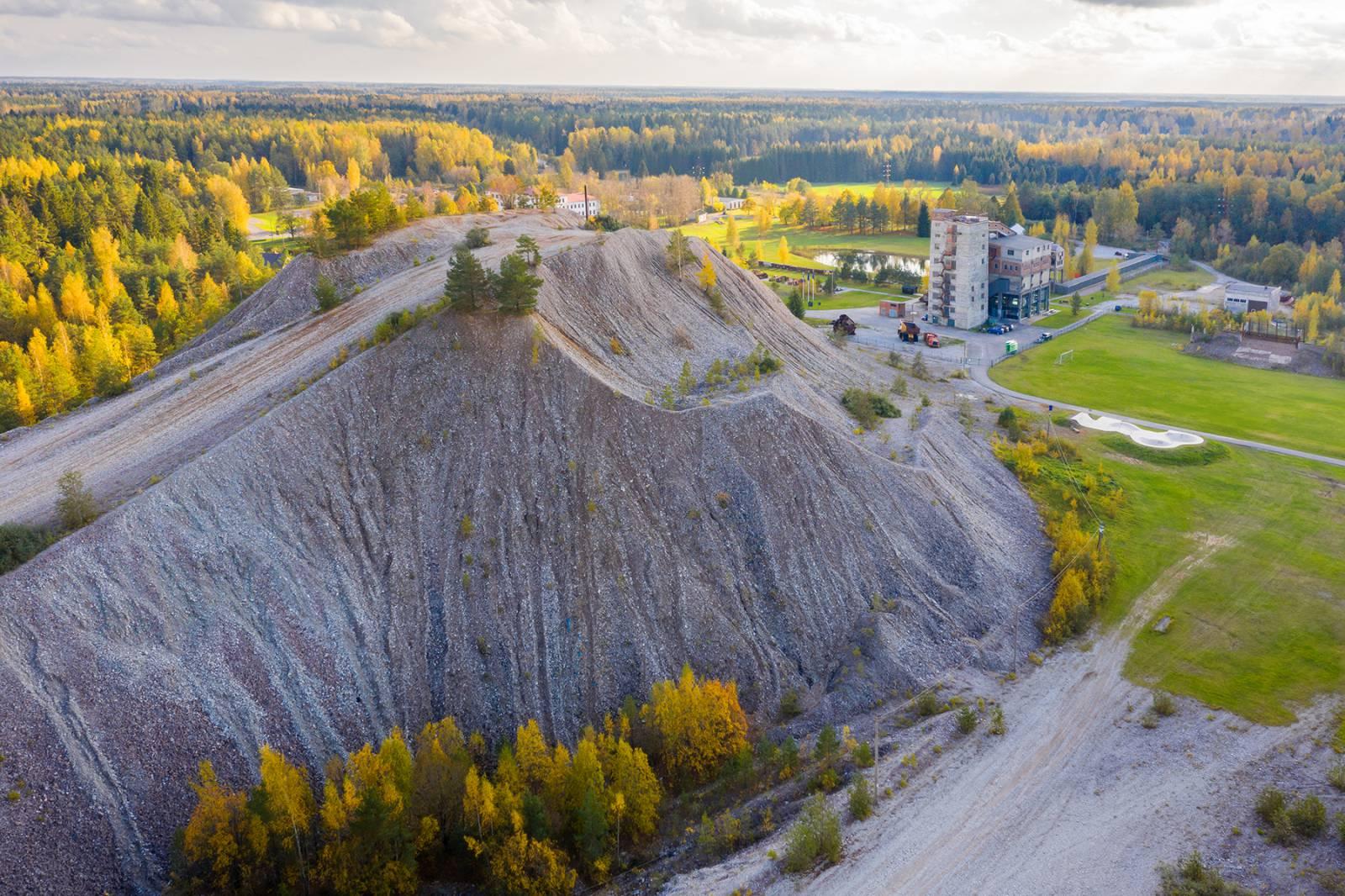 Kivimid ja kivistised kaevandatud aladel