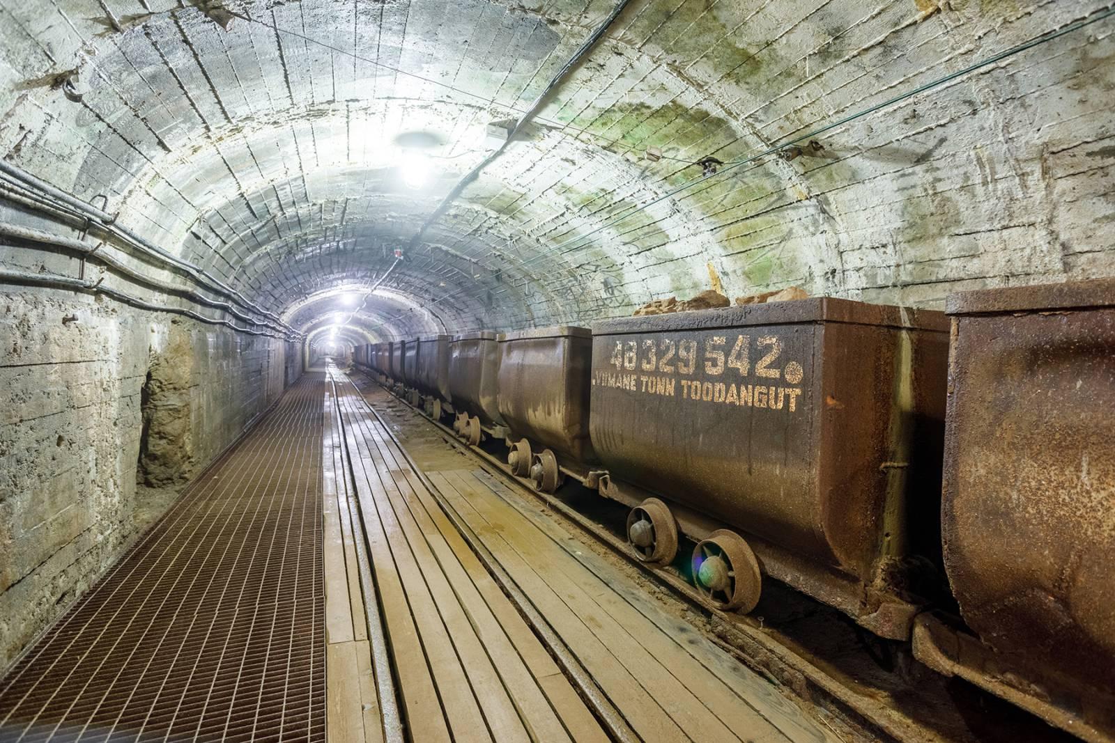 Põlevkivi kaevandamine allmaakaevanduses