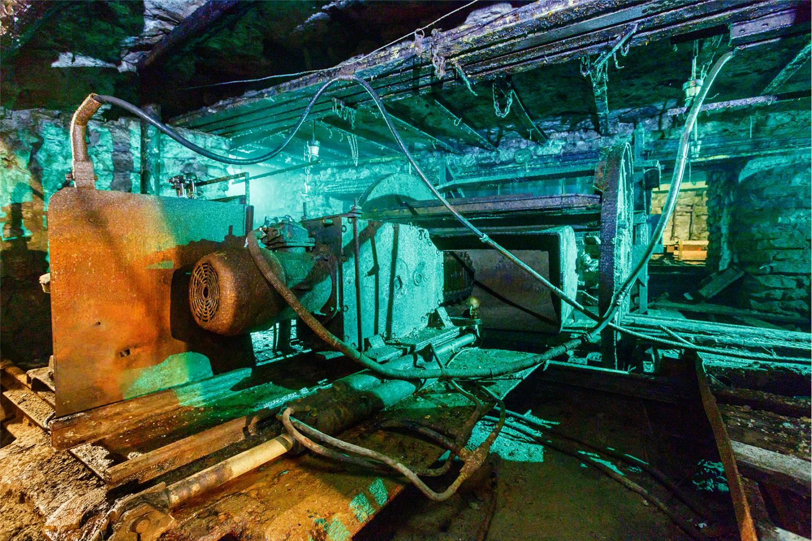 Töökeskkonnad põlevkivi kaevandamisel