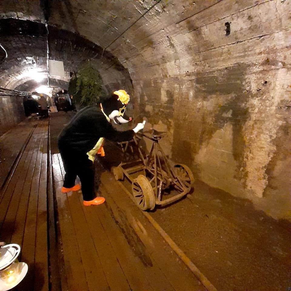 Jõulud kaevandusmuuseumi Mutimaal